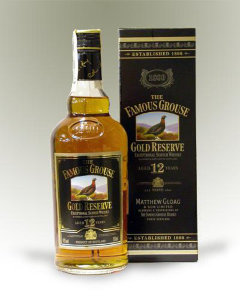Famous Grouse Gold 12yrs