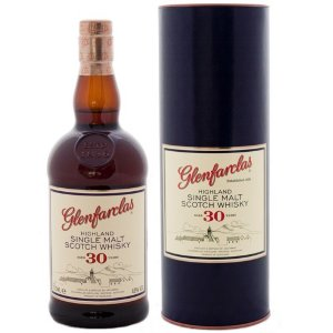 Glenfarclas. Single  Malt Scotch Wiskey 30 years old.