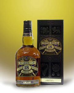 Chivas Regal 18 years gift