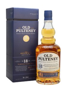 Old Pulteney 18 years old.