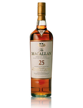Macallan 25 years Sherry oak gift