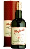 Glenfarclas. Single  Malt Scotch Wiskey 15 years old.