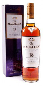 Macallan 18 years Sherry Oak