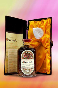 Smith s Glenlivet 1946 50 yo crystal decanter